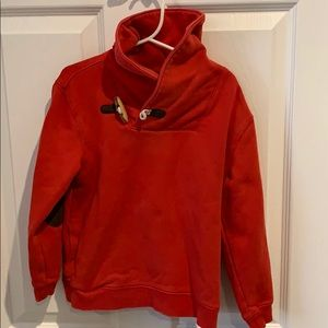 Janie & Jack Boys Shawl Color Sweatshirt - size 5
